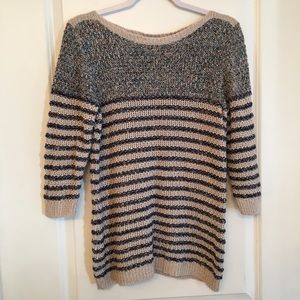 Coldwater creek knitted sweater size M